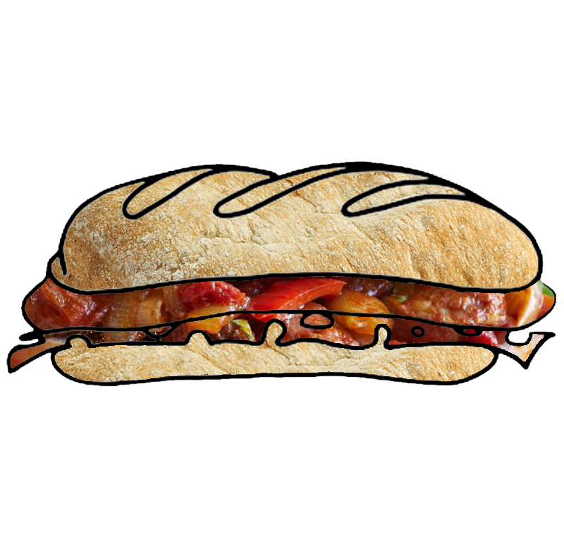 NOLA_MIA_GELATO-SAUSAGE_PEPPERS_ONIONS_panini_ SANDWICH