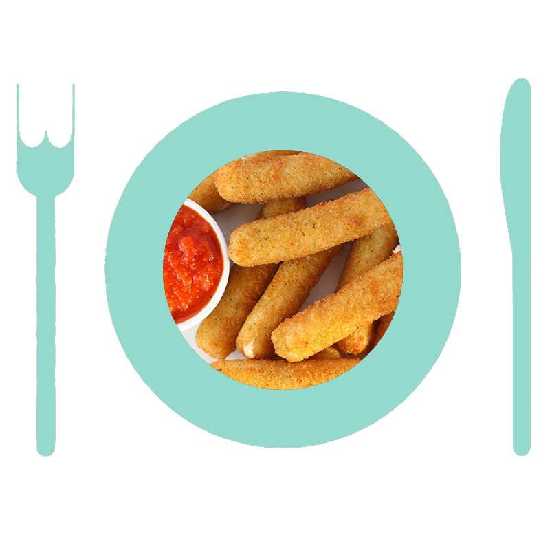 NOLA_MIA_GELATO-deep-fried-mozzarella_sticks_Plate